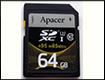 Тест и обзор Apacer SDHC/SDXC R95 W85 – карта памяти Class 10 на 64 Гбайт