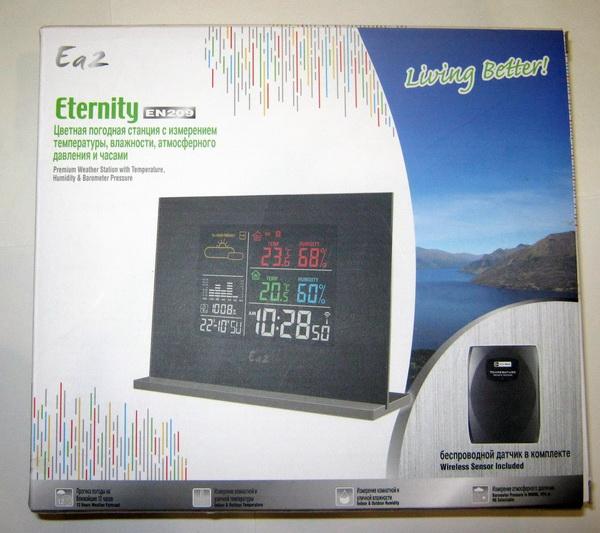 Ea2 En209 Метеостанция инструкция