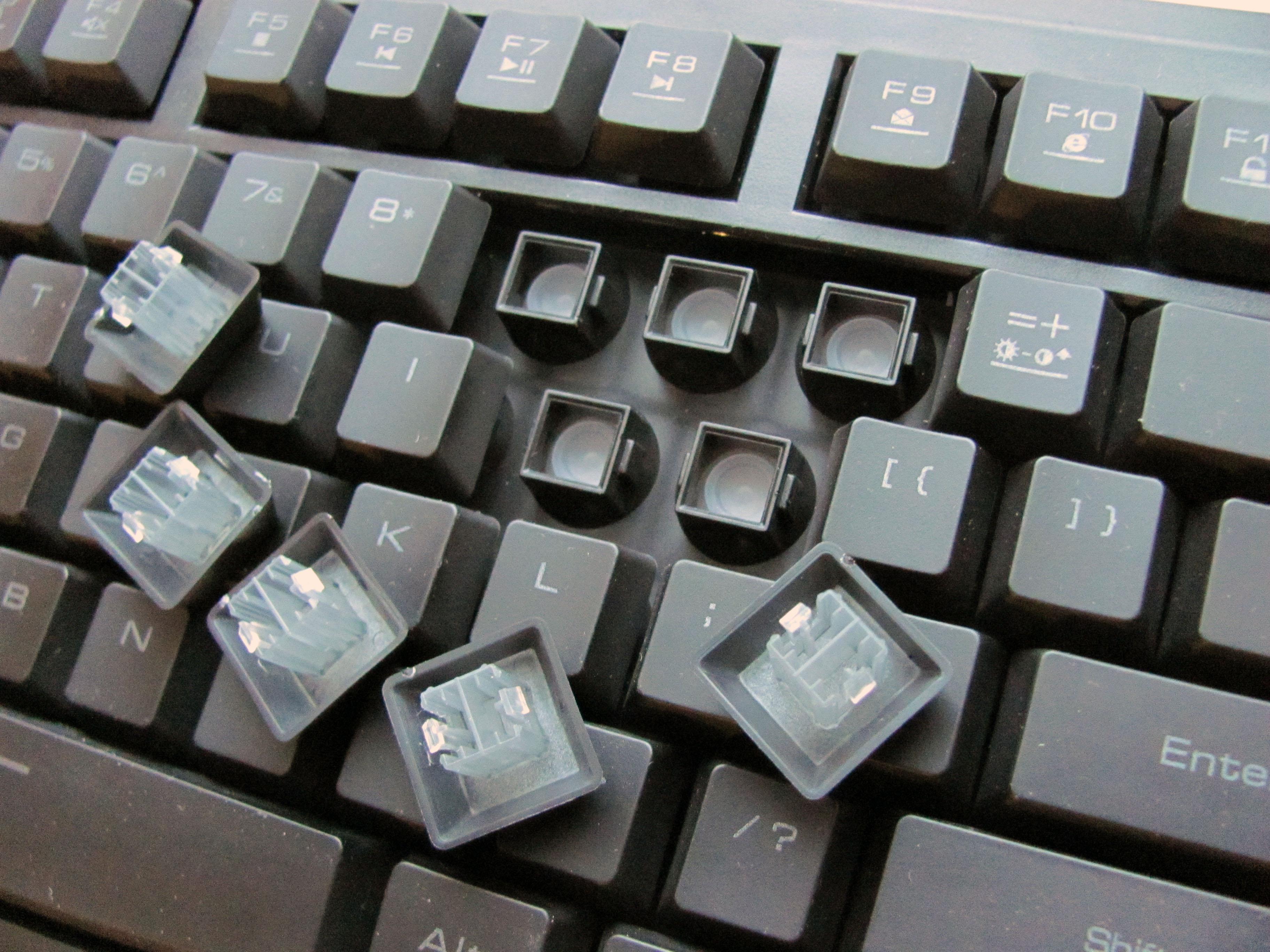 Если клавиатура перестала работать, то желательно знать после чего это произошло