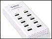 Тест и обзор ORICO DUB-10P-WH – универсальная зарядная станция с 10 портами USB