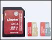 Тест и обзор карт памяти SD и micro-SD от Apacer, Kingston  и Sandisk